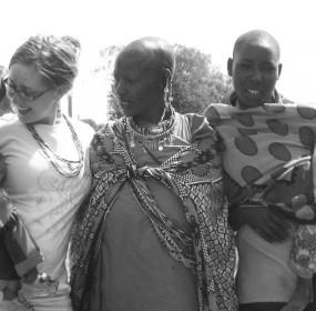Becca in Massai