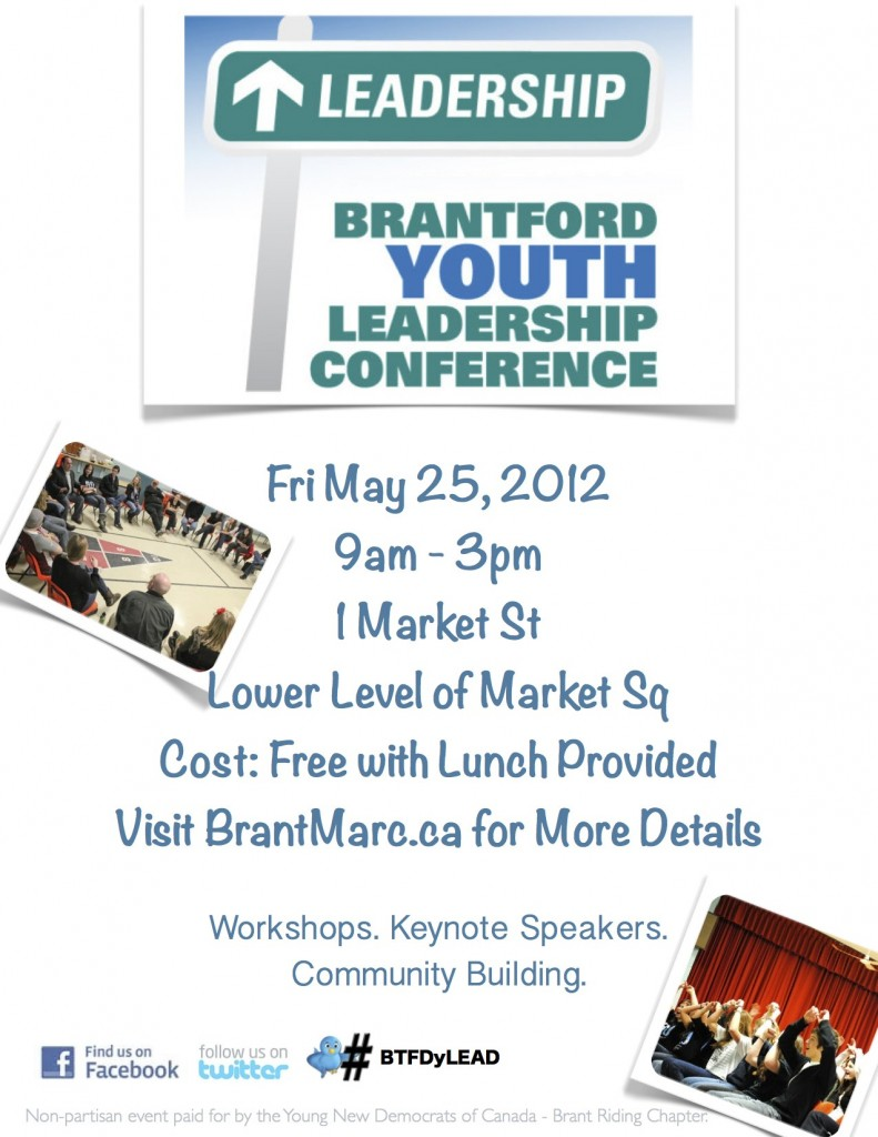 BTFDyLEAD poster 791x1024 Leadership Conference Gives Local Youth a Voice   by Madelaine Brown & Ryan Jamula