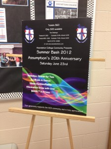 IMG 1480 225x300 If you build it, they will come: Assumption College Celebrates 20 years   by David Page